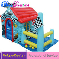 Home garden play house Inflatable slide inflatable trampoline inflatable bouncy castle