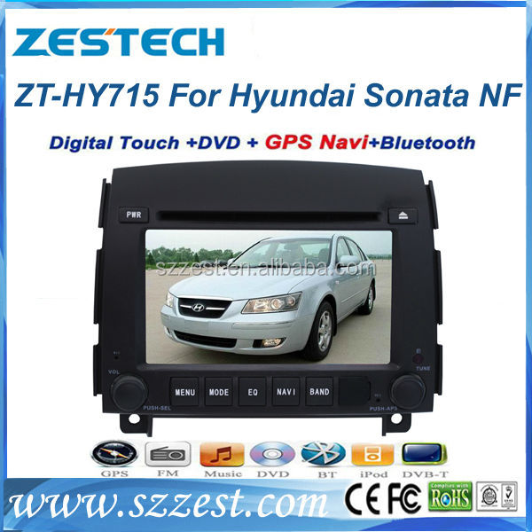 ZESTECH double din in dash car radio for hyundai sonata NF 2006 2007 2008 2009 2010 2011 gps navigation