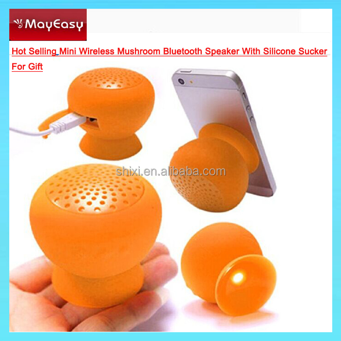 mini bluetooth speaker mushroom waterproof bluetooth speaker multifunctional bluetooth speaker