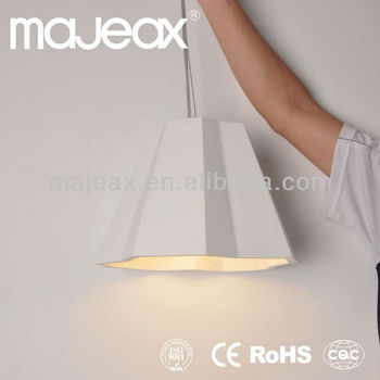 Gypsum Plaster 40w hanging ceiling lamp cover