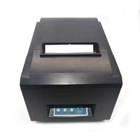 US/UK/AU/EU Plug 80mm Bluetooth Wireless Barcode Printer with Thermal Roll Paper Auto Cutter