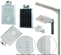 Factory wholesale 8w to 60w all in one solar security led sensor light