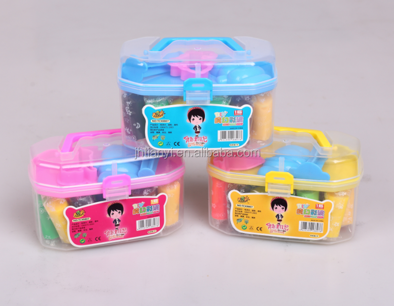 16 colors intelligent clay artist korean toys for children