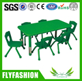 SF-06C Daycare Kids Furniture PP Plastic Children Table and Chairs Height Adjustable Table