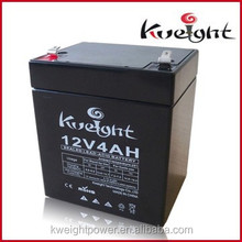 Agm deep cycle12V 4AH battery power bank for solar energy battery