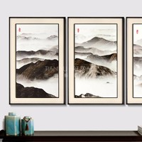 3D Home decoration wall scenery painting picture beautiful abstract paintings