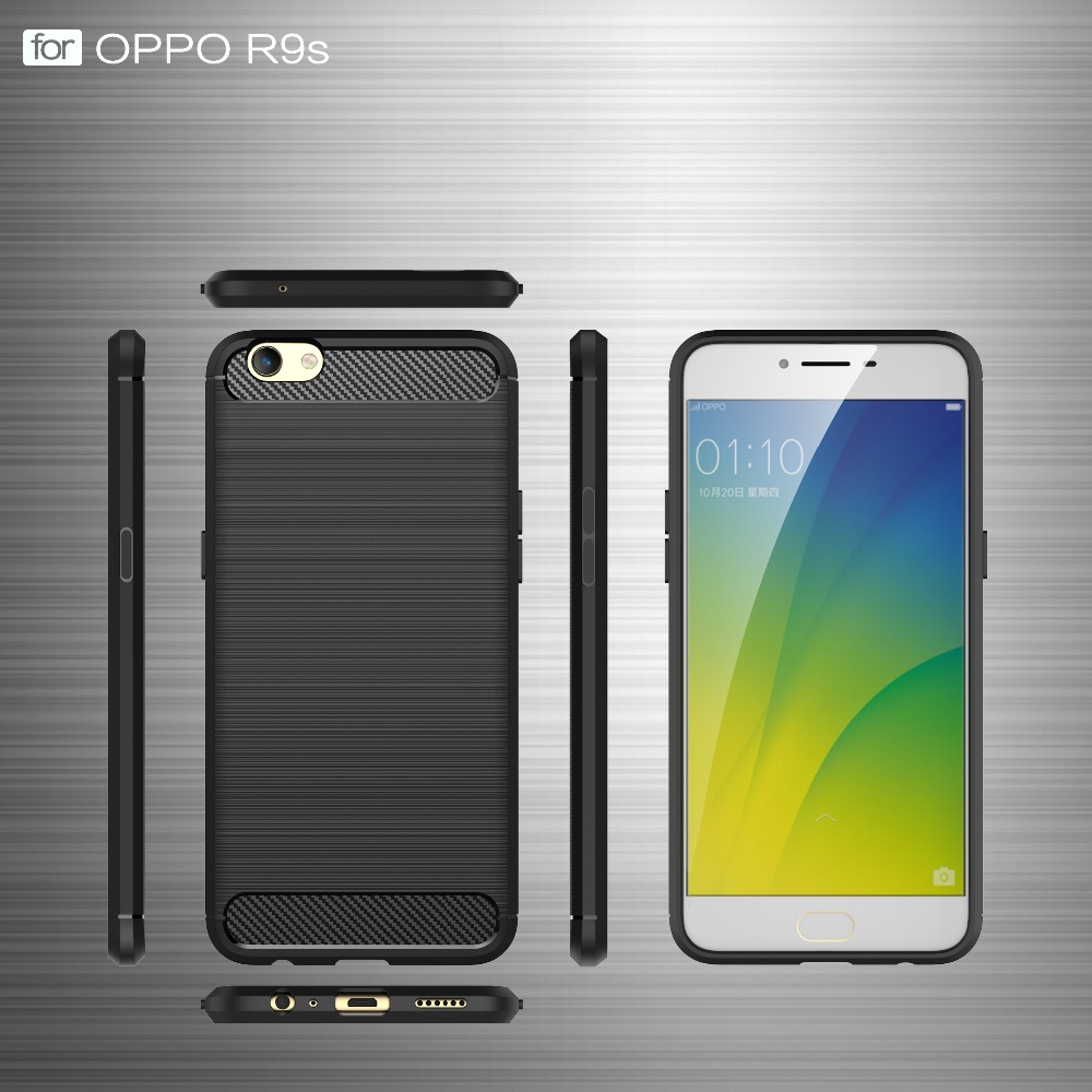 2017 top hot selling popular carbon fiber antiskidding ultrathin mobile phone case for OPPO A37 /on 9 .as1