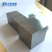 price polished 12.7*12.7*12.7mm r fan balancing weights 1kg tungsten cube