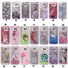 for samsung note 4 liquid Flow hard case cover skin phone case for samsung galaxy note 4