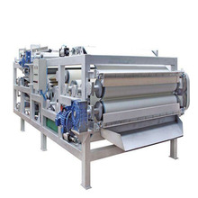 SLUDGE DEWATERING BELT FILTER PRESS machine