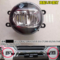 For Land Cruiser FJ200 LC 200 lx570 front bumper LED Fog Light 2016