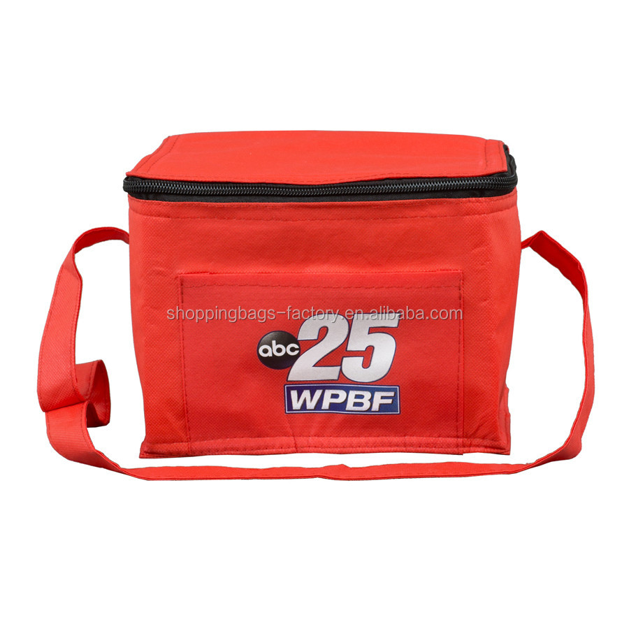 600D Polyester exterior recycled lunch bag