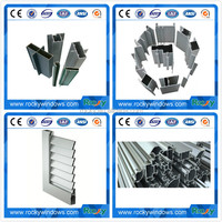 Door&Window Aluminium Profiles for Curtain Wall