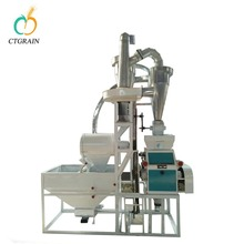 Domestic wheat flour mill machine with price for sale in india
