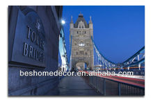 London's most iconic landmarks tower bridge modern decorativas painting figures, painted act pictures