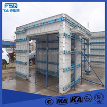 Formwork clamps Aluminium Concrete Wall Forming system for building construction