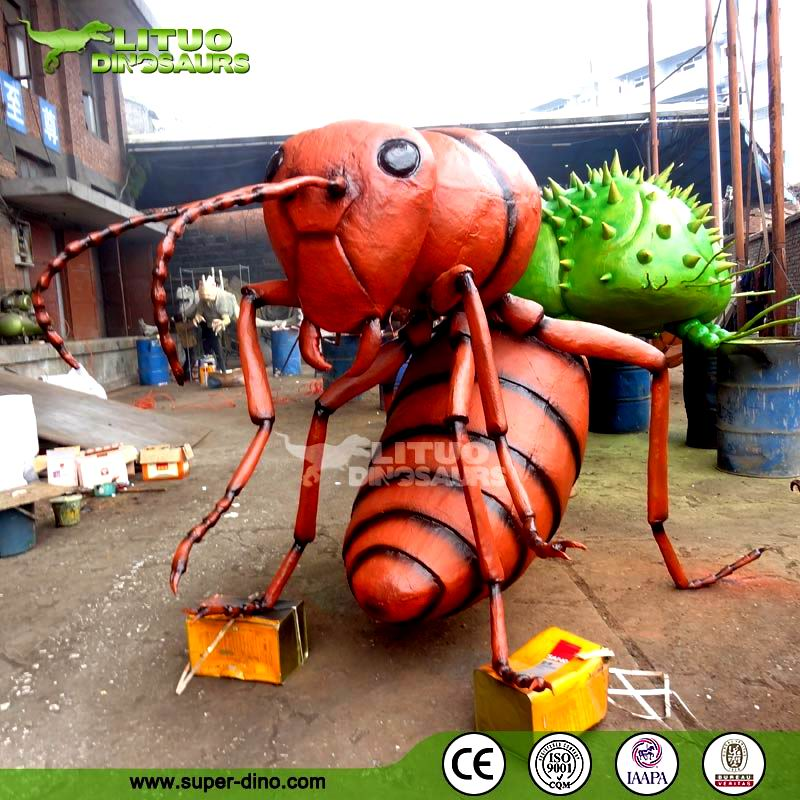 Theme Park Mechanical Huge Animatronic Insect Ant