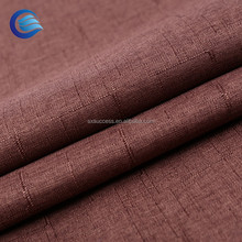 wholesale 600d polyester waterproof 3 pass blackout curtain lining fabric