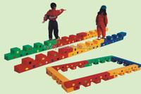 Multifunction educational toys for babies,single-log bridge