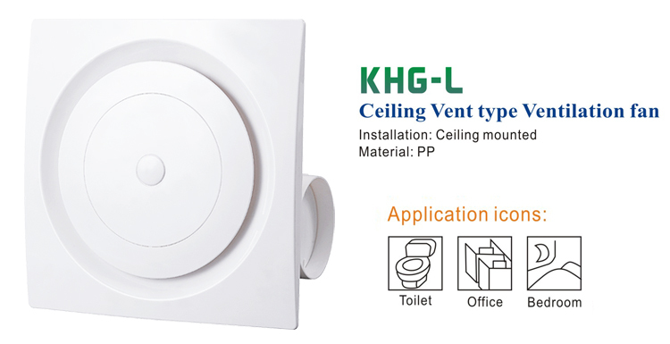 Ceiling Ventilation Fan (KHG25-L)