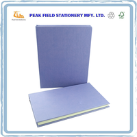 Hot Sales Color Printing PU Cover Business Notebook