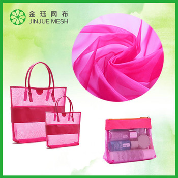 wholesale nylon net bags fabric for shopping