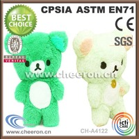CRAFT CHEAP PLUSH JOINTED TEDDY BEARS WITH CUSTOM COLOR