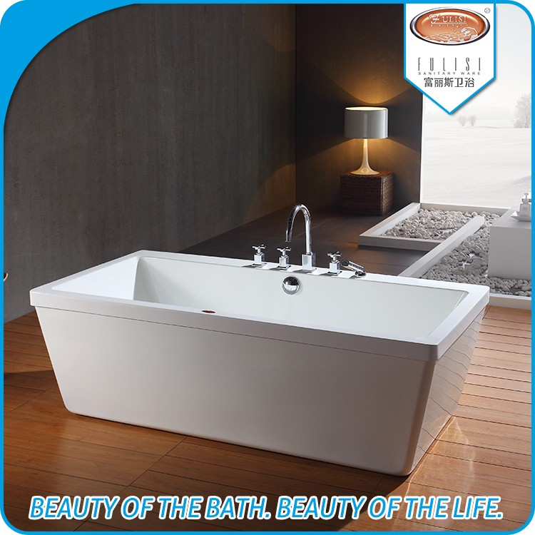 Simple design cheap soaking acrylic bathroom tubs for adult