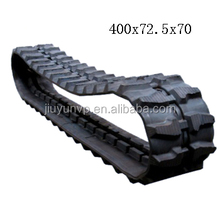 Replacement hot sale Excavator rubber track IWAFUJI CT40N rubber crawler for Construction 400x72.5x70