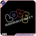 Love for baby Wholesale rhinestone heat transfer designs