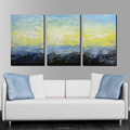 Custom Made Hand Painted Abstract Oil Painting for Living Room
