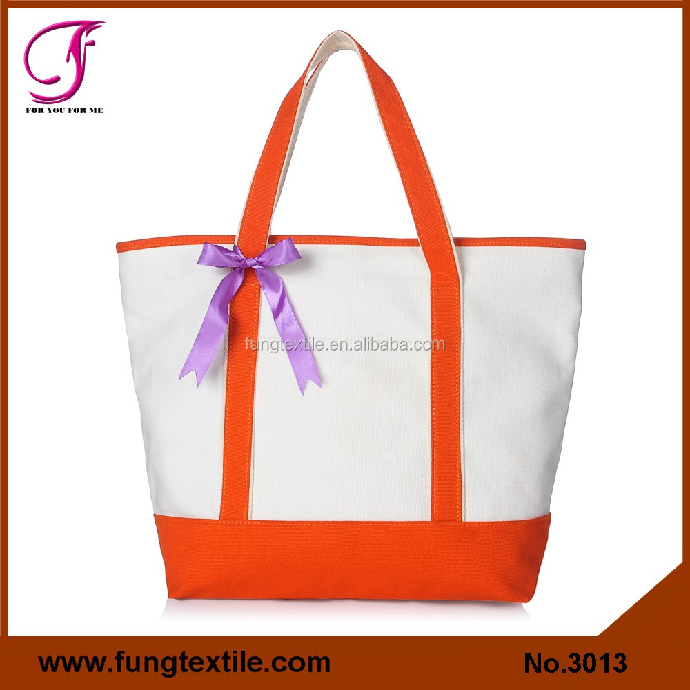 Fung 3013 Mini Small Cotton Canvas Party Favor Wedding Gift Tote Bag