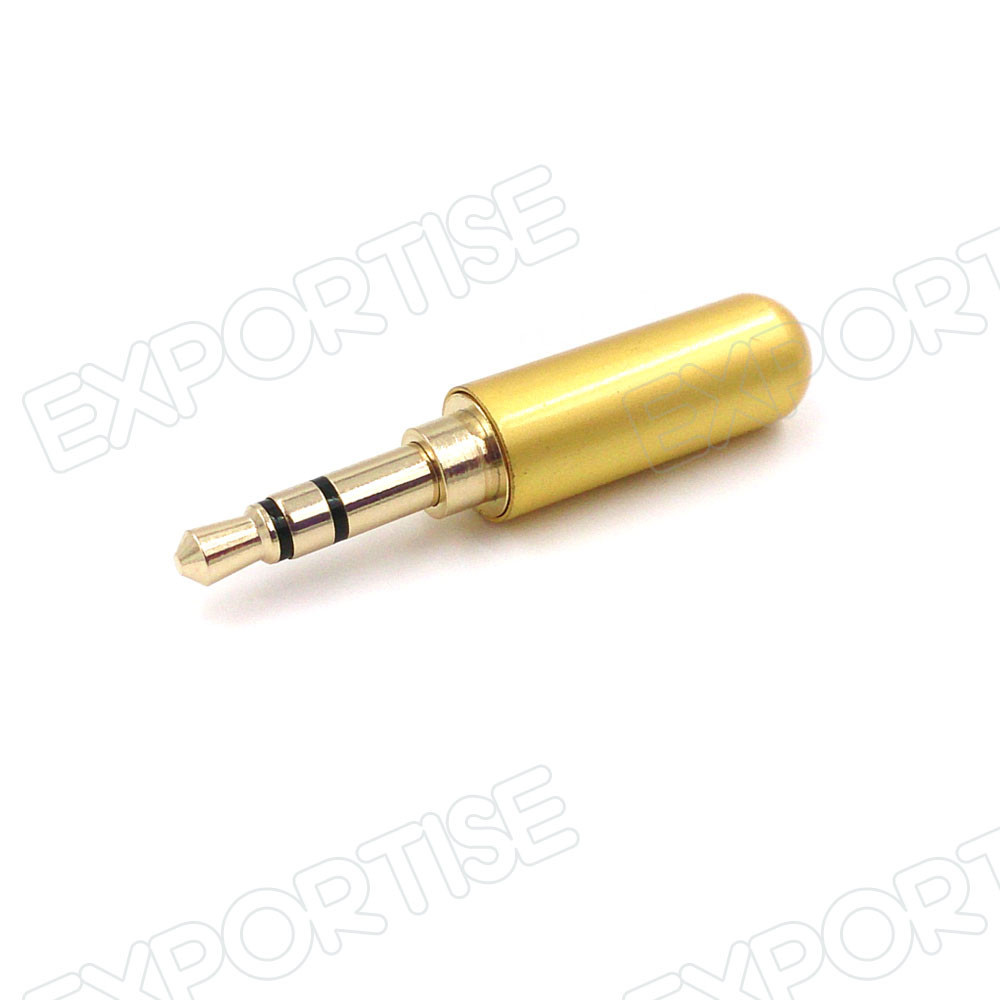 3 Pole 3.5mm Plug Male Headphone Jack 3.5 mm Audio Connector