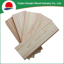 Factory price solid wooden shower wall thickness panel