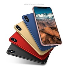 Ultra slim mobile phone cover case for iphone x hard pc matte case