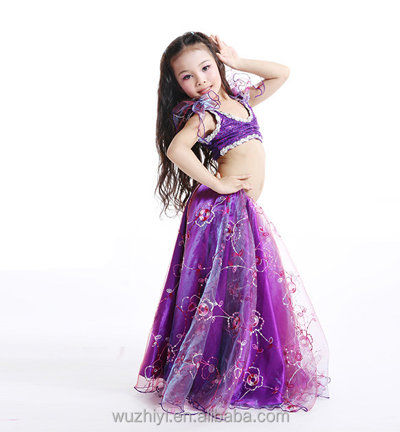 New Design Lovely Kids little girls' Belly Dance Costumes (RT003)