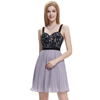 Starzz 2016 New Design Sexy Spaghetti Straps Short Grey Cocktail Dress ST000003-2