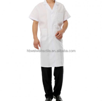 Polyester/Cotton Fabric wholesale factory price T/C 65/35 office uniform designs and pictures for doctor's clothes