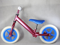 Wooden aluminum toddlers pedal less bikes for 3 to 6 years old kids