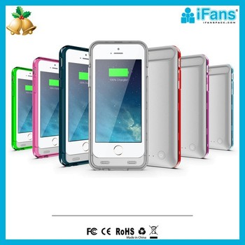 For iPhone6 battery cover case 2400mAh