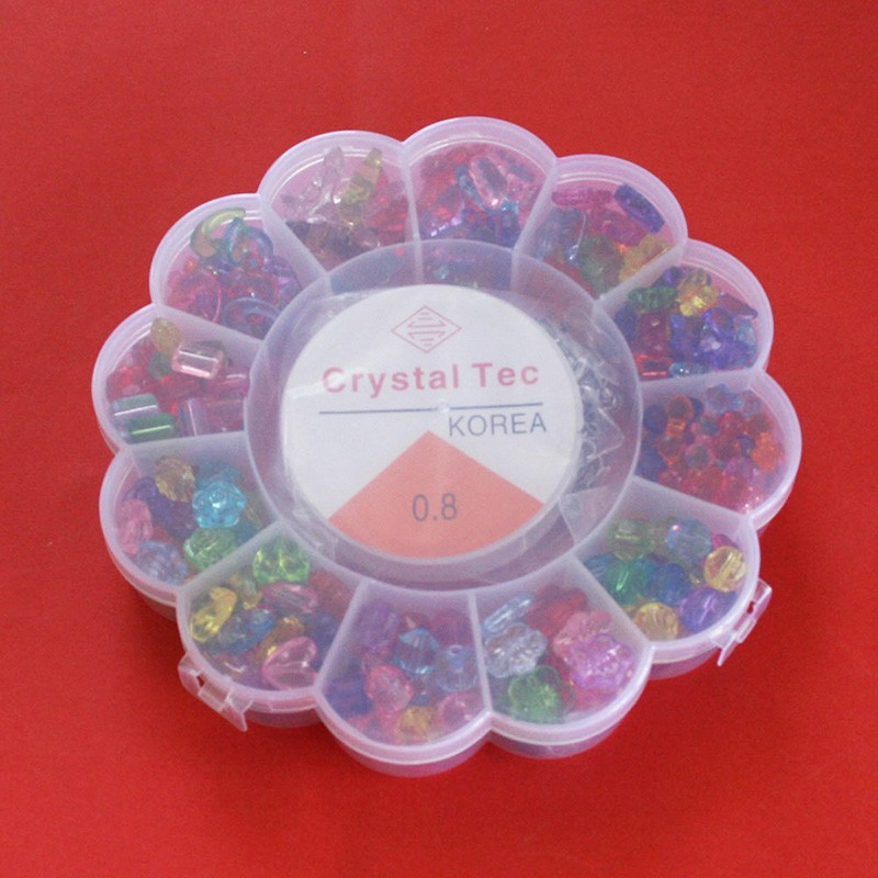 Mixed Plastic Beads DIY Beads Kits,DIY jewelry Kit,Fit bracelet,necklace BDH012
