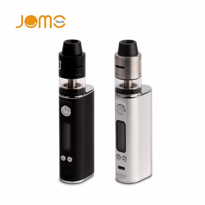 New product Jomotech RDTA DIY box mod kit Ultra 60 TC 2600mah Variable Wattage philippine mod vape