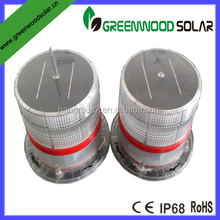 airport solar runway edge light/solar obstruction light