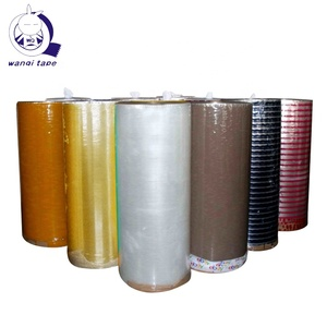 Sealing Bopp Tape Manufacturers Adhesive Tape Jumbo Roll