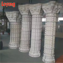 Professional plastic mold to make concrete pillar with high quality