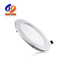 Hot Selling 12W Recessed Downlight 3W 6W 9W 15W 18W 24W Cheap Slim Round Square Led Flat Ceiling Panel Light For Home