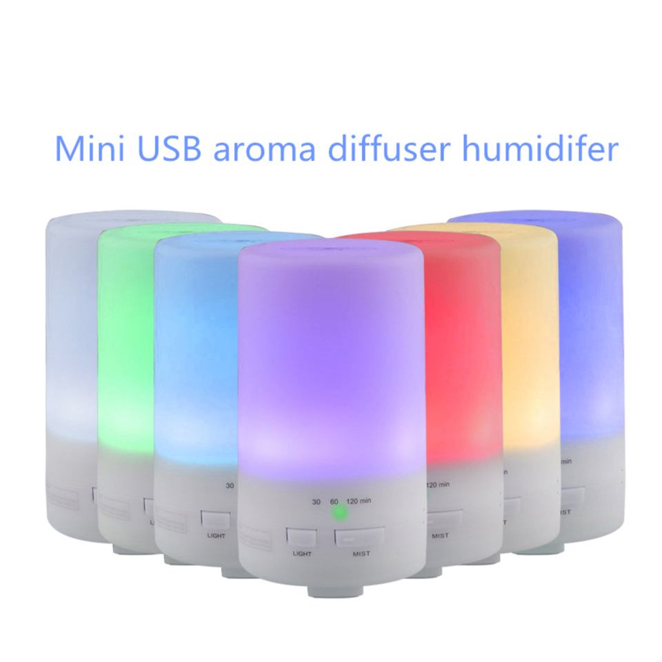 50ML Mini Home Office Car Essential Aroma Oil Diffuser USB Aromatherapy Humidifier