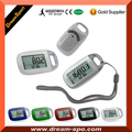 2016 Fitness Tracker Body Fit Pedometers Large LCD Walking Step Counter 3D Pedometer