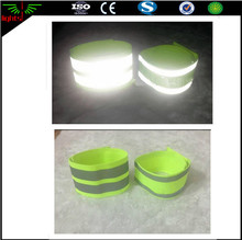 custom reflective elastic armband / ankle band with high visible reflex tape