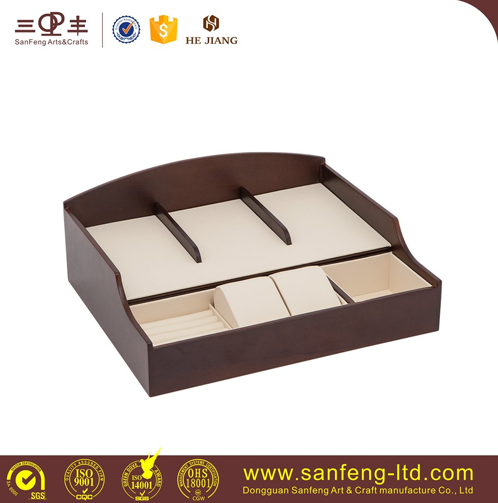 High quality wooden storage box for watch, jewellery, phone etc